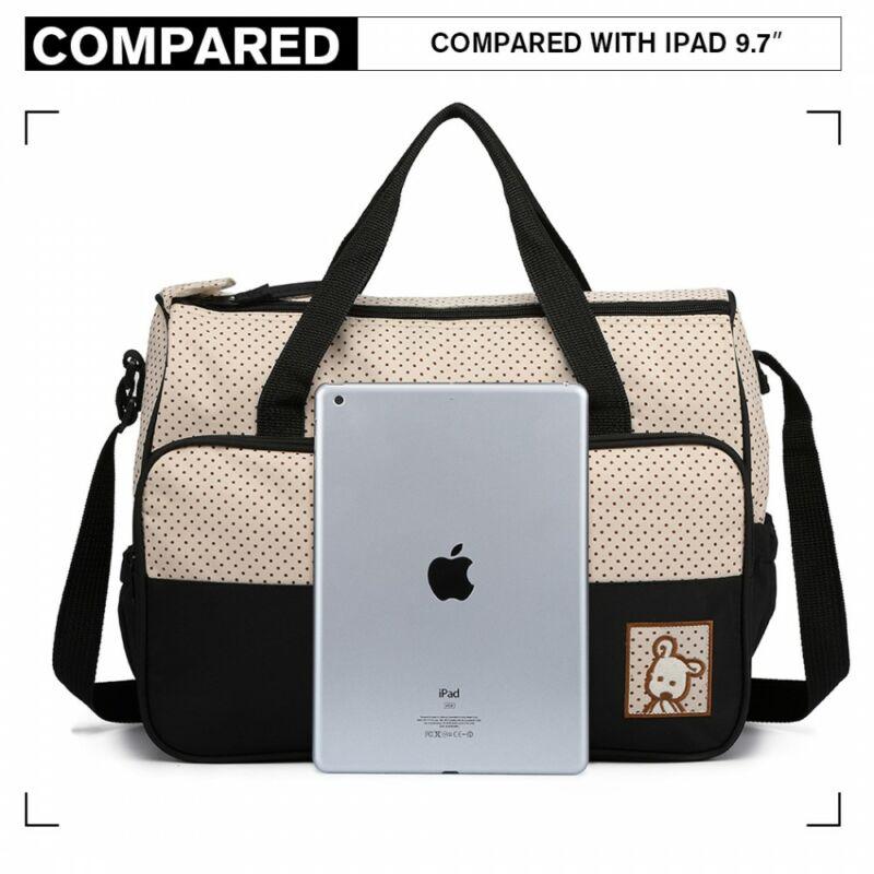 5 db-os babatáska szett: nagy pelenkázó táska -  iPad