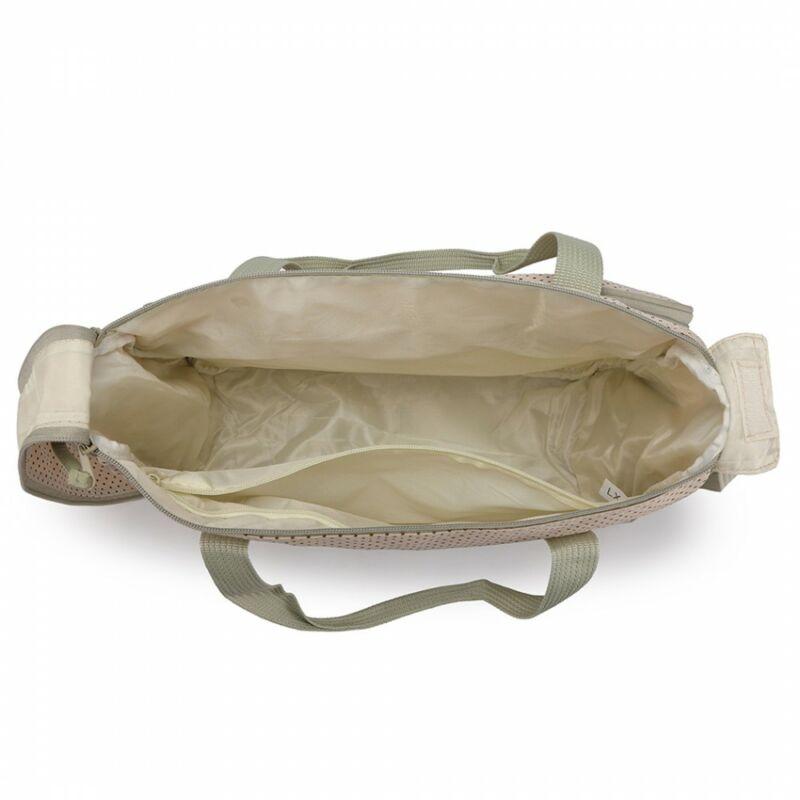 5 db-os babatáska szett: nagy pelenkázó táska - minden elfér benne