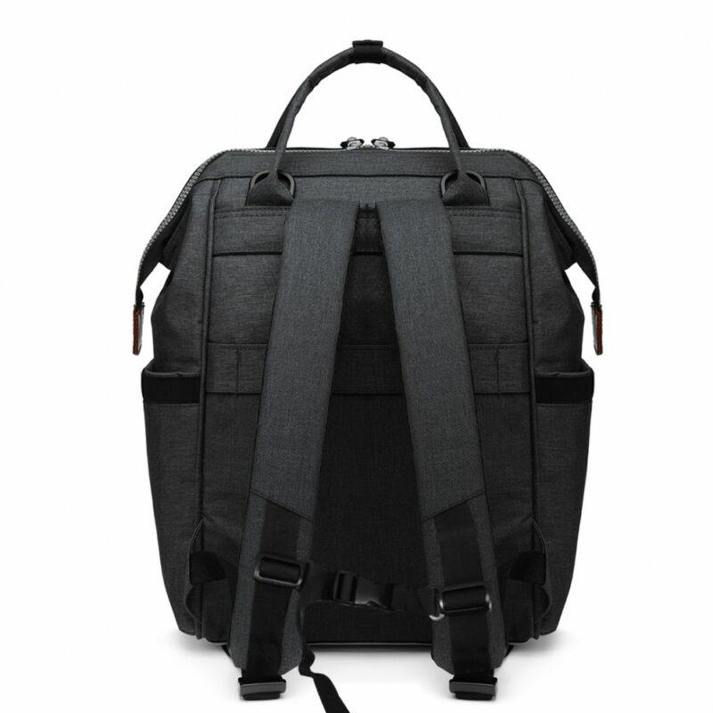 KONO baba-mama modern hátitáska-fekete-2